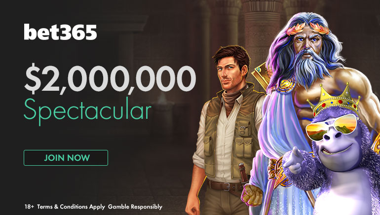 60000 бонусов: акция  $2 000 000 Spectacular от Bet365