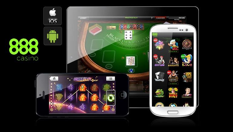 Мобильное казино 888 - всегда с тобой
