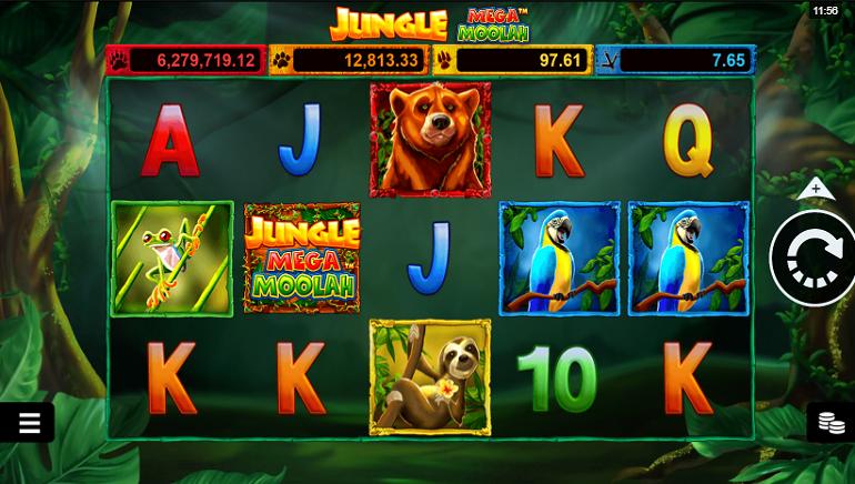 Обзор игрового автомата: Jungle Mega Moolah от Microgaming