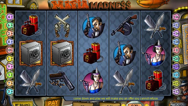 Mafia Madness – 100 бесплатных игр
